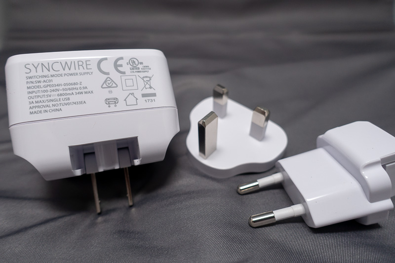 Syncwire 4-Port USB Charger