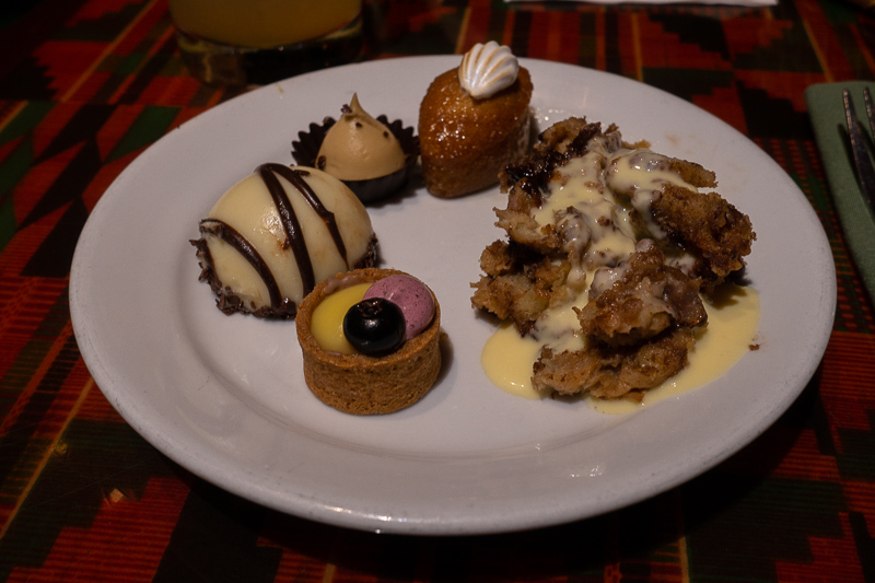 Mixed Plate Of Desserts